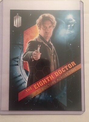 2016 Topps Doctor Who Timeless - Doctors Across Time #8 - The Eighth Doctor
