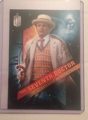 2016 Topps Doctor Who Timeless - Doctors Across Time #7 - The Seventh Doctor