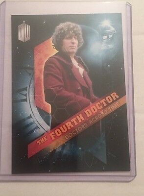 2016 Topps Doctor Who Timeless - Doctors Across Time #4 - The Fourth Doctor