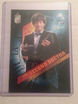2016 Topps Doctor Who Timeless Doctors Across Time #2 - The Second Doctor
