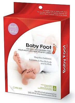 Baby Foot Original Deep Skin Peel Exfoliation for Soft & Smooth Feet - Lavender