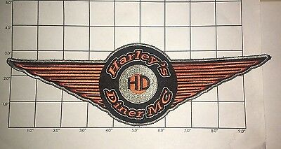 Harley's Diner MC Patch - big patch