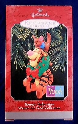 Hallmark 1998 BOUNCY BABY-SITTER Tigger Roo Winnie the Pooh Collection MIB ~