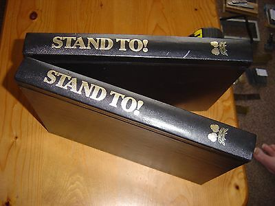 ''stand To'' - Western Front Association Bulletins / Journals In 2 Binders