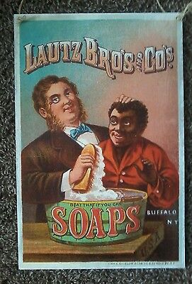 Vintage Country Store Wood Sign/Advertisement Lautz Bros. Soap