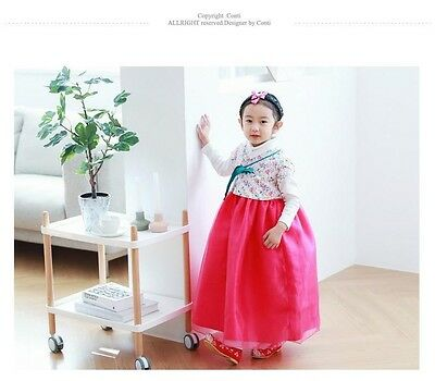 1132f1d53 KOREAN TRADITIONAL CLOTHING Hanbok Kid Girl Women Maxi Dress Stage ...