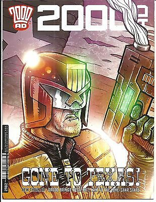2000 AD PROG 2012 (Gone to Texas! 04 JAN 2017), NM NEW