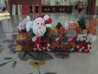 Christmas Train Ornament - Ceramic - As new condition