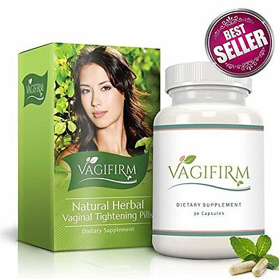 Vagifirm Pills (1 Month Supply) - Most Effective Natural Vaginal Tightening Pill