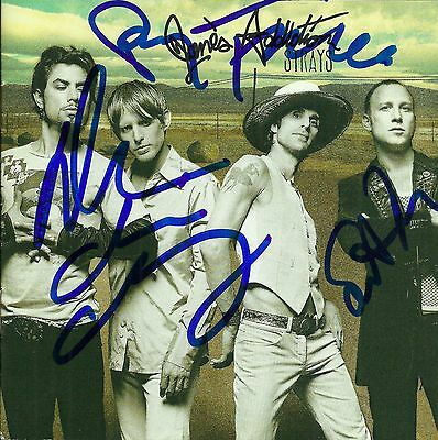 Jane's Addiction whole group signed Strays cd navarro perry farrell