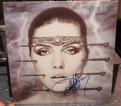"Debbie Harry signed Koo Koo 12"" LP"