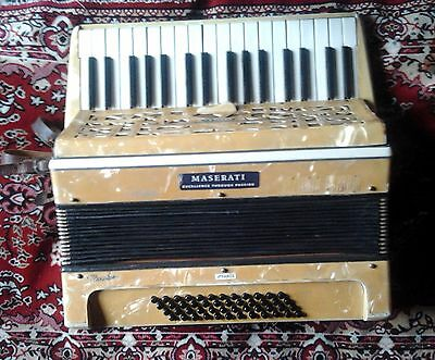 Accordion Settino Soprani Italy 1930  3/4 48 Bass