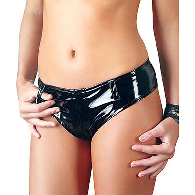 Black Level Dessous Sie String Schwarz S M L XL Reizwäsche