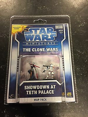 Star Wars Miniatures: The Clone Wars 'Showdown At Teth Palace' Map Pack