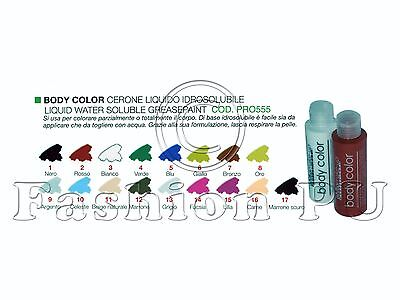 Cinecittà Make up - Body Color 125ml - Cerone Liquido idrosolubile Coprente