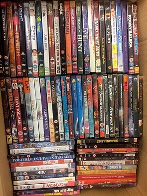 Job Lot Of Approx 1000 Used DVDs, Good Condition, SUPER VALUE!
