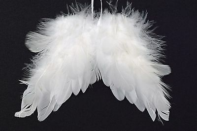 Angel Wings Hanging White Feather Angel Wings Decoration