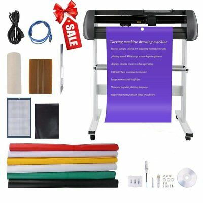 Vinyl Cutter Best Value Sign Decal Making Kit w/ Design Cut Softwr ON SALE UE01