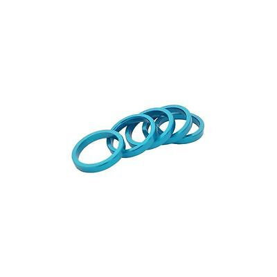 Brand-X headset spacer pack alloy 5 x 5mm 1.1-8""