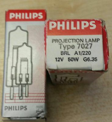 Philips Projection Lamp Type 7748XHP 24V 250W G6.35