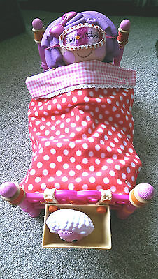 "Lalaloopsy Sew Cute Bed Pillow Featherbed Doll 13"" Tall & Pet Sheep 3"" Tall"