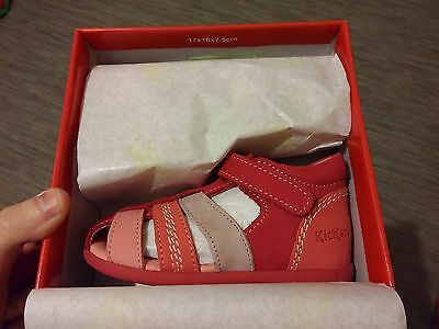 KICKERS babysun SANDALES taille 23 (chaussures 100% neuves)