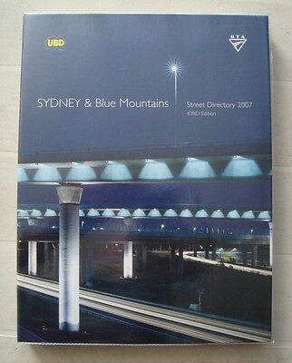 UBD 2007 Sydney And Blue Mountains Street Directory 43RD Edition FREE POST