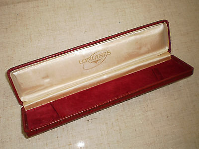 Longines vintage scatola astuccio per orologi watch box per donna women