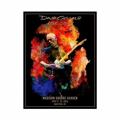 David Gilmour Madison Square Garden Msg Poster Size Lithograph Ny Pink Floyd