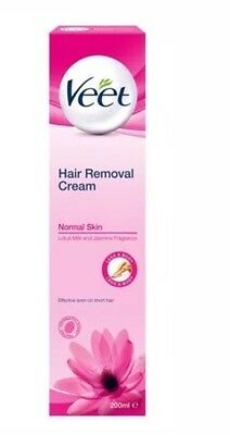 VEET Hair Removal Cream For NORMAL SKIN Lotus Milk & Jasmine Fragrance 200ml New