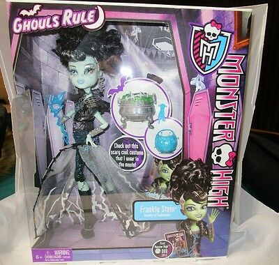 Monster High-Ghouls Rule-Frankie Stein Doll-New in Box