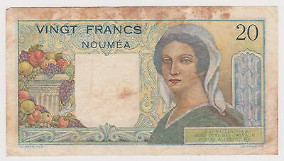 (N2-46) 1960s French Nemea 20 Franks bank note (C)