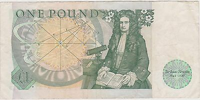 (N2-49) 1978 GB one pound bank note (C)