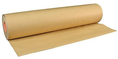 10m x 500mm ROLL  STRONG BROWN KRAFT WRAPPING PAPER *!