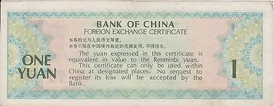 (N2-41) 1990 China 1 Yuan bank note (M)