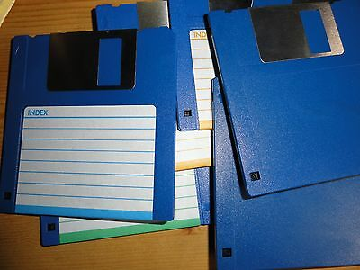 "3.5"" 720K DSDD FLOPPY DISK DOUBLE DENSITY - NEW - PC FAT formatted - 1x"