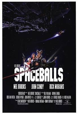 Retro Spaceballs Movie Poster Fridge Magnet