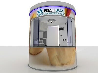 FRESHBOX The Origin Fingerfood, Food Trailer, Shop in Shop, Mall Kiosk