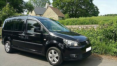 Volkswagen Caddy Maxi  C20 Life Tdi 1.6 Automatic Disabled Wheelchair Ramp