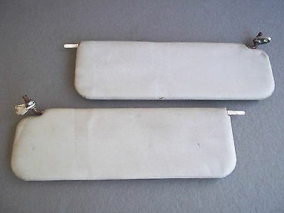 Mg Mgb Gt Or Mgc Gt Grey/cream Sun Visor Pair (A)
