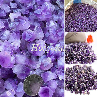 Amethyst Pure Natural Raw Material Crushed Gemstone Crystal Chip Stone Art Craft