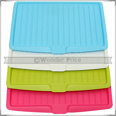 Dish Plate Drainer Drying Tray Board Cutlery Sink Rack Holder Kitchen Storage