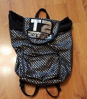 Terminator 2 Backpack T2 Movie Bag Universal Studios Florida Battle Across Time