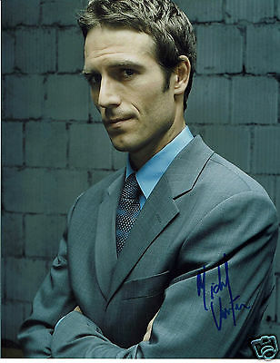 Michael Vartan Actor Alias  Hand Signed Photograph 10 x 8