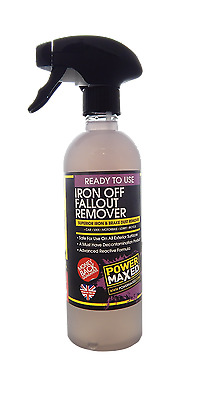 Power Maxed Iron Off Fallout Remover  500ml Spay Bottle PMRO500P1 T48 Post