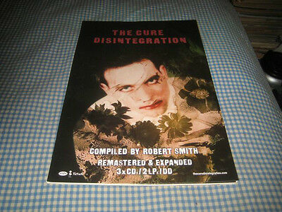 THE CURE-(disintegration)-1 POSTER-11X17-NMINT-RARE
