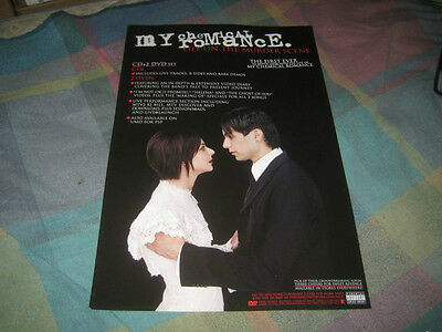 MY CHEMICAL ROMANCE-(life on the murder scene)-1 POSTER-11X17-NMINT-RARE