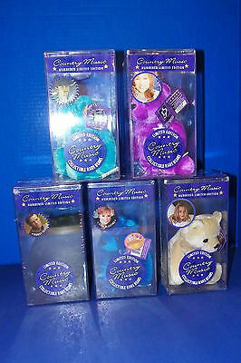 Country Music Rare Bears Reba McEntire JoDee Messina Tim McGraw Randy Travis set