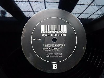 Wax Doctor ‎– Another Direction / The Stalker : Basement Records 1993 HARDCORE
