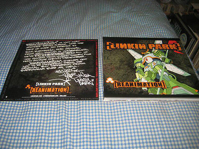 LINKIN PARK-(reanimation)-1 POSTER FLAT-2 SIDED-12X12-NMINT-RARE